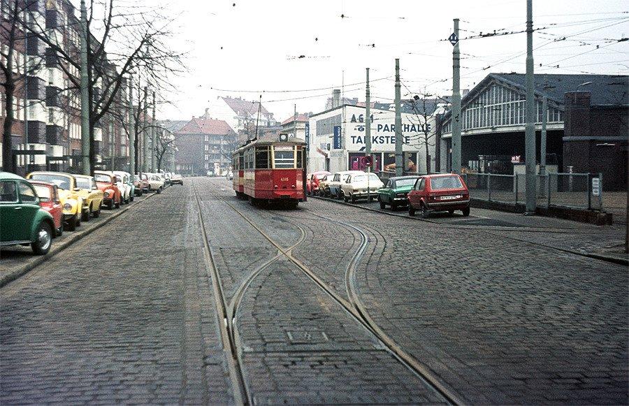 Heute vor 150 jahren erste stra enbahn in hamburg er ffnet for Depot bergedorf