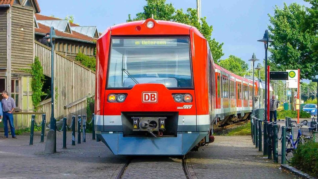 Hamburger S-Bahn in Tornesch