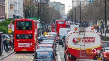 Bus, London, Nahverkehr, Pulkbildung, Stau, Umweltverbund, Winter, ÖPNV, Öffentlicher Nahverkehr