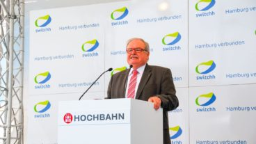 Hochbahn-Chef Günter Elste