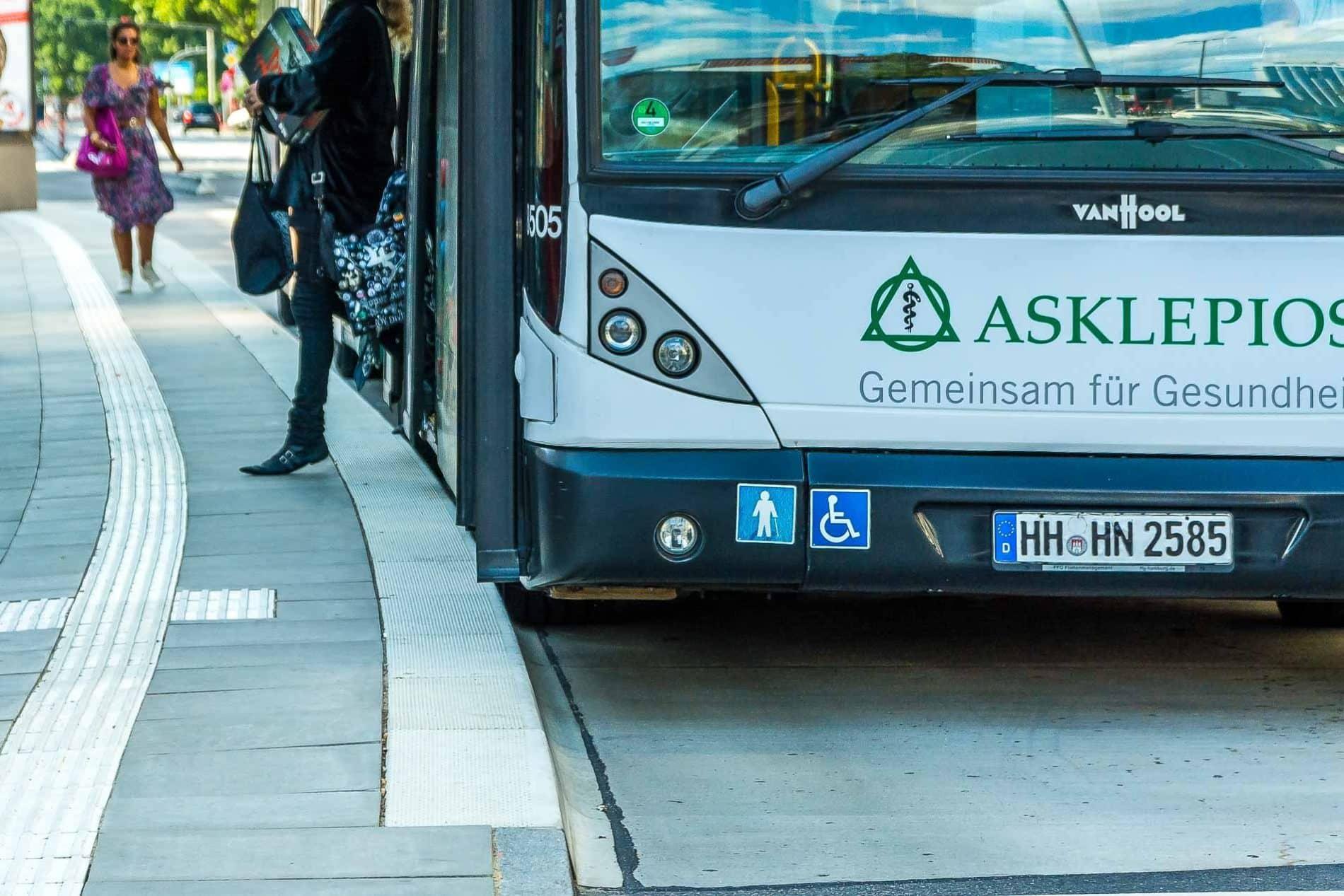 Kasseler Sonderbord: Mit diesem Spezial-Kantstein können Busse besonders nah hernafahren
