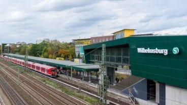 S-Bahnhof Wilhelmsburg in Hamburg