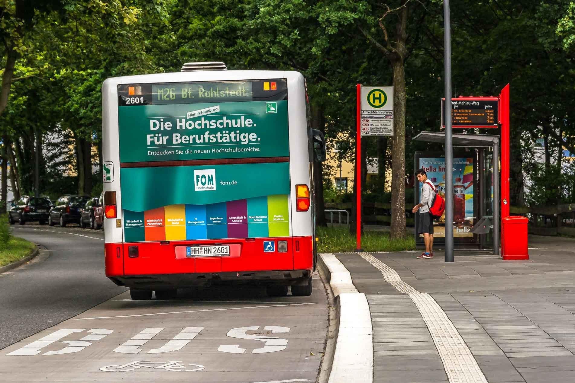 neue bushaltestellen warum ist kante teilweise abgesenkt. Black Bedroom Furniture Sets. Home Design Ideas