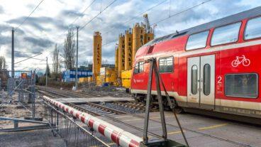 Aufhebung des Bahnübergangs Hammer Straße in Hamburg