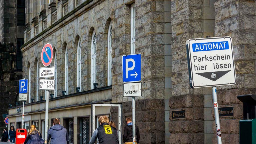 Parkgebührenzone in Hamburg