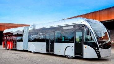 Neuer Elektro-Gelenkbus der VHH