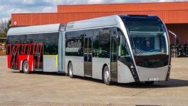 Elektro-Gelenkbus der VHH