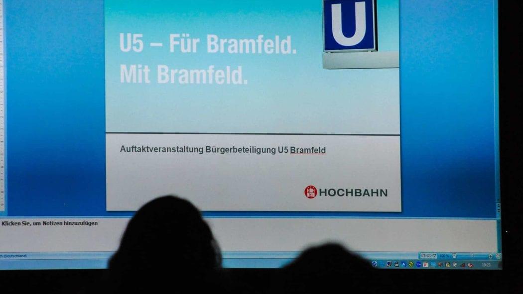 Präsentation in Bramfeld: Neue U-Bahnlinie U5