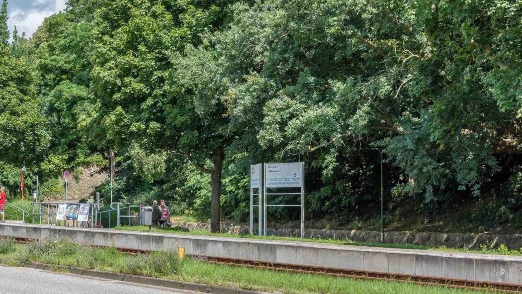 """Haltepunkt """"Geesthacht Freibad"""""""