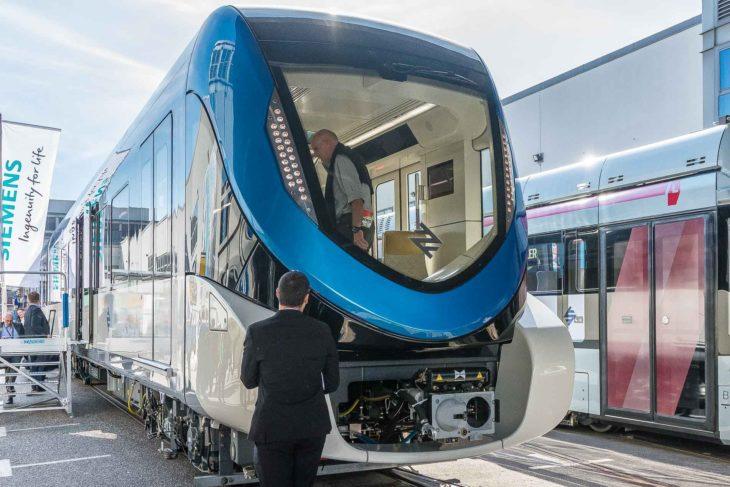 Selbstfahrender U-Bahn-Zug für Riad in Saudi-Arabien