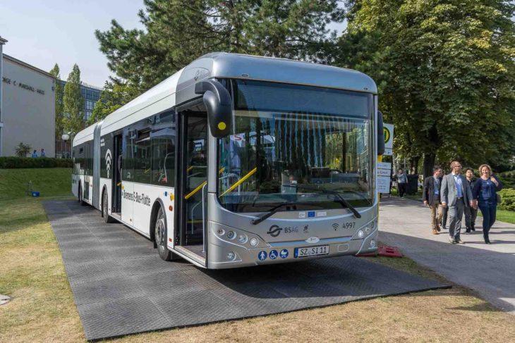 Elektrobus von Sileo für Bremen