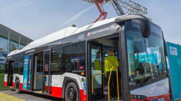 Solaris-Elektrobus der Hamburger Hochbahn