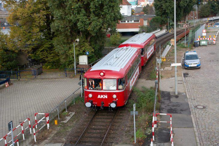 AKN, Hafen, Hafenbahn, Hamburg, Historische Bahnen, Sonderzug, Uerdinger