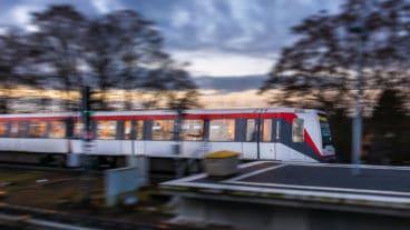 Hamburger U-Bahnzug