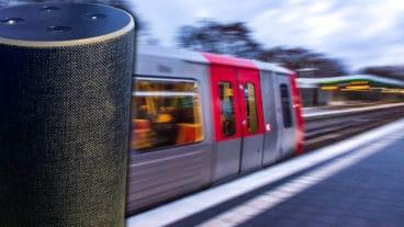 Der HVV gibt jetzt auch sprachgesteuerte Fahrplanauskünfte auf der Amazon Alexa-Plattform