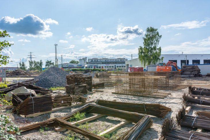Das künftige S-Bahn-Instandhaltungswerk liegt direkt neben der AKN-Abstellanlage am Bahnhof Eidelstedt