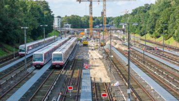 In Billstedt entsteht eine neue U-Bahn-Werkstatt für die Linien U2/U4
