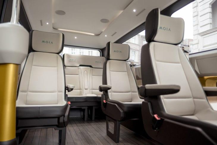 Edle Ausstattung und hoher Komfort zu einem Fahrpreis, der in der Testphase teilweise unter HVV-Niveau liegt