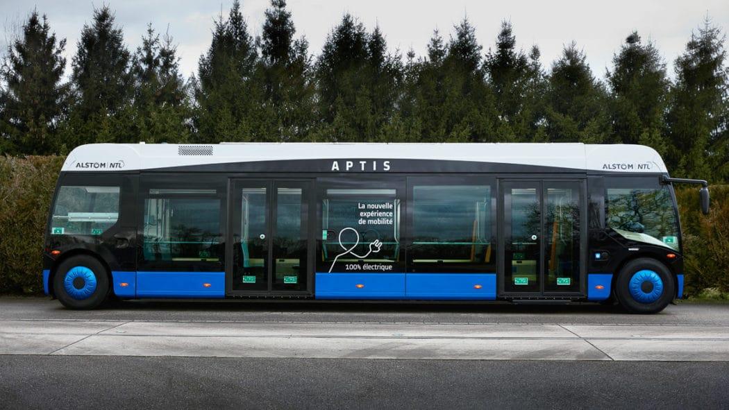 Neuartiger Elektrobus von Alstom im Straßenbahn-Design