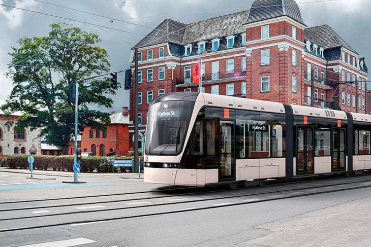 Visualisierung: Die geplante Stadtbahn von Odense