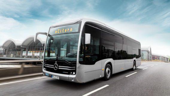 Bus, Elektrobus, Elektrofahrzeug, Mercedes, Nahverkehr, Umweltverbund, VHH, eCitaro, ÖPNV, Öffentlicher Nahverkehr