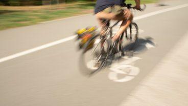 Bewegungsunschärfe, Fahrrad, Fahrradverkehr, Fahrradweg, Hamburg, Rad, Radfahrer, Radverkehr, Radweg, Umweltverbund