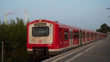 BR472, Bahn, DB, HVV, Hamburg, Herbst, Nahverkehr, S-Bahn, Tiefstack, Umweltverbund, Zug, ÖPNV, Öffentlicher Nahverkehr