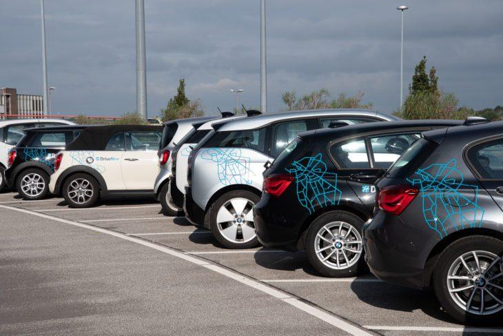 Airport, BMW, Carsharing, Diesel, DriveNow, Hamburg