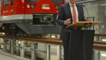 Bahn, DB, HVV, Hamburg, Kronsaalsweg, Nahverkehr, S-Bahn, Stellingen, Umweltverbund, Zug, ÖPNV, Öffentlicher Nahverkehr
