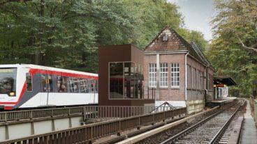 Bahn, Barrierefreiheit, Fuhlsbüttel Nord, HVV, Hamburg, Hochbahn, Nahverkehr, U-Bahn, U1, Umweltverbund, Visualisierung, Zug, ÖPNV, Öffentlicher Nahverkehr