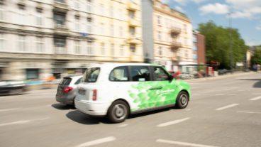 Außenaufnahme, Clevershuttle, Deutschland, Hamburg, Im Freien, Ridepooling, Ridesharing, Stadt, Tag, urban