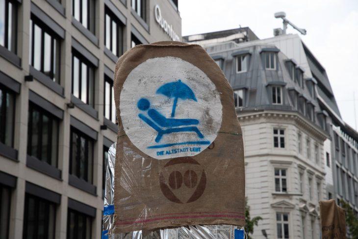 Fußgänger, Fußgängerzone, Hamburg, Sommer, Umweltverbund