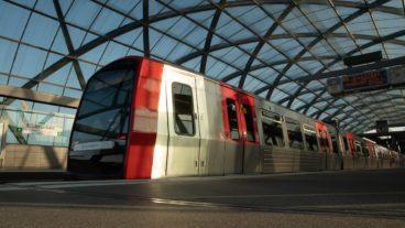 Bahn, Elbbrücken, HVV, Hafen, Hafencity, Hamburg, Hochbahn, Nahverkehr, Sommer, U-Bahn, U4, Umweltverbund, Zug, ÖPNV, Öffentlicher Nahverkehr