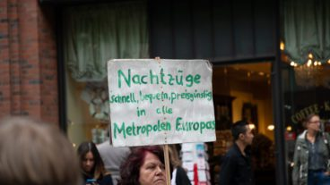 Klimastreik-Demonstration am 20. September 2020 in Hamburg