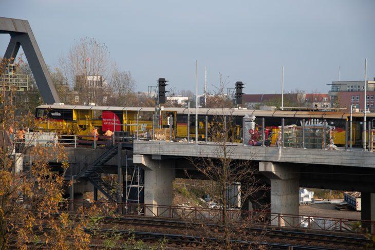 Elbbrücken, Hafencity, Jamburg