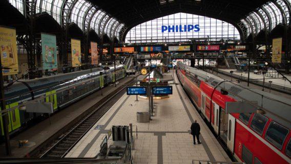 Auf dem Höhepunkt der Corona-Krise war der Hamburger Hauptbahnhof im Berufsverkehr fast menschenleer