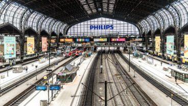 Coronavirus, Covid19, Hamburg, Hauptbahnhof, Innenaufnahme