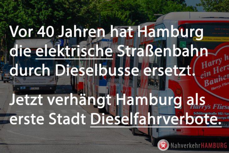 Hamburg verhängt als erste deutsche Stadt Diesel-Fahrverbote
