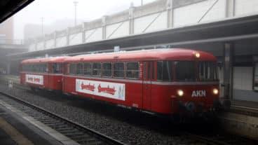 AKN, Henstedt-Ulzburg, Uerdinger, Schienenbus, Haltestelle, Kreis Segeberg