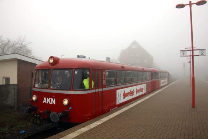 Barmstedt, Uerdinger Schienenbus, VT 3.08, VT 3.09