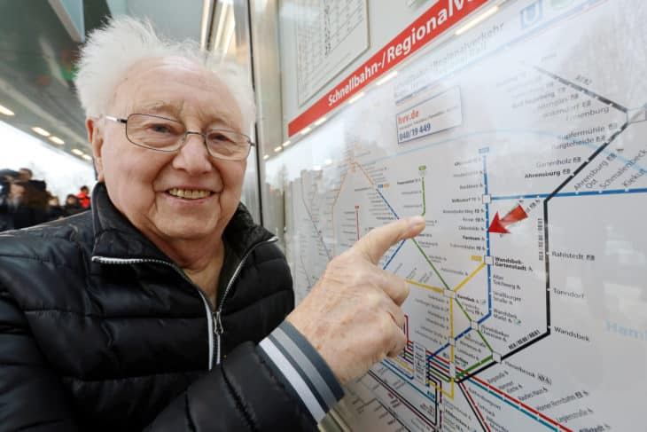Werner Wackerhagen Streckennetzplan Oldenfelde