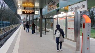 Zwischen Farmsen und Berne: Bahnhof U1 – Oldenfelde eröffnet