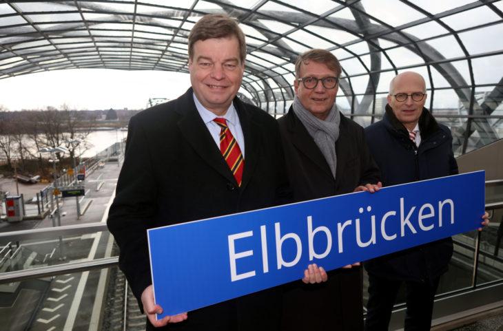 Enak Ferlemann, Ronald Pofalla, Dr. Peter Tschentscher