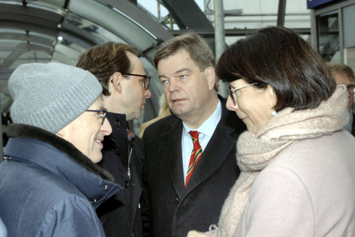Henrik Falk, Enak Ferlemann, Dr. Peter Tschentscher