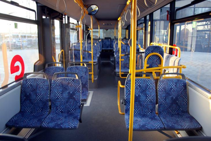Blick in den Bus