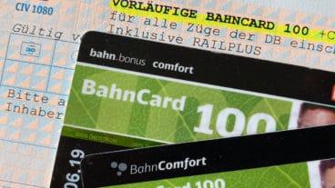 Bahncard 100 - die Flatrate-Karte der Deutschen Bahn