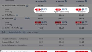 HVV-Auskunft: Zwei unterschiedliche Preise für dieselbe Strecke