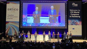 Eröffnungsfeier des ITS-Weltkongresses am 11. Oktober im CCH in Hamburg.