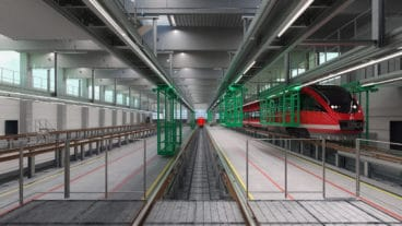 Visualisierung: So soll das neue S-Bahn-Werk in Stellingen aussehen