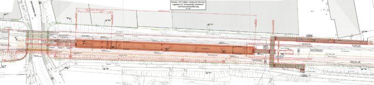 Lageplan: So soll der S-Bahnhof Ottensen aussehen